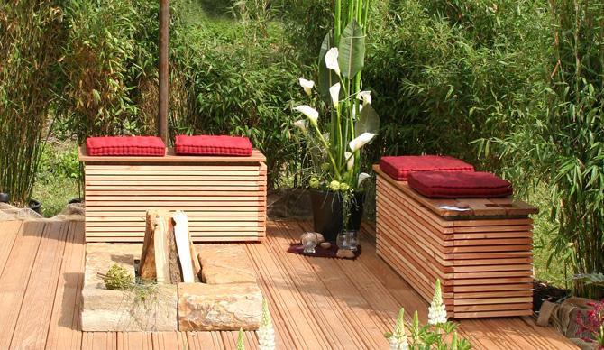 kleine g rten dachterrassen und balkone gartenplanung. Black Bedroom Furniture Sets. Home Design Ideas
