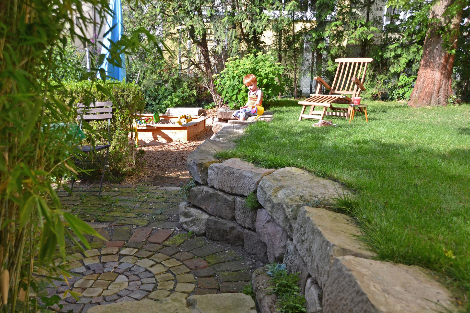 Gartenplanung volker schwerteck ansprechende for Gartengestaltung zwei ebenen