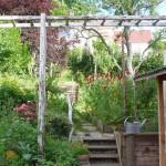 Landlust-Stimmung im Garten pur. (Ausführung: Bauherr selbst)