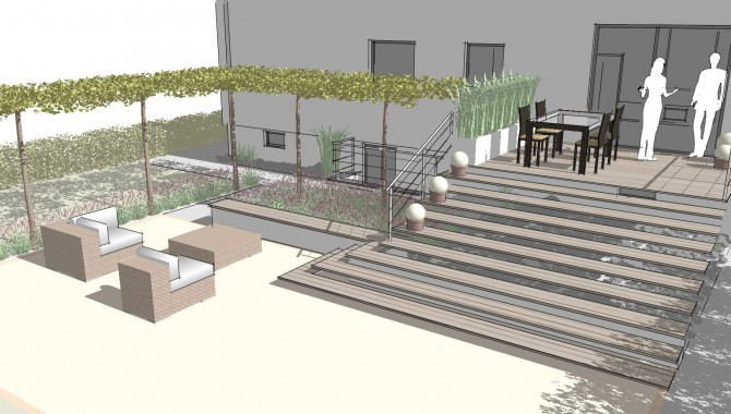 Gartenplanung, Gartenarchitektur Rutesheim